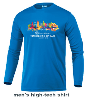Mens 2015 Thanksgiving Day Race T-shirt